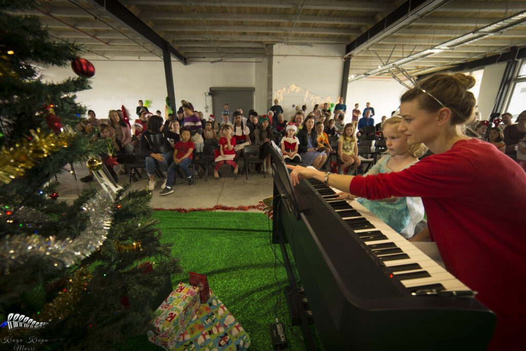Kinga Krupa Music Christmas Piano Concert, December 2019, Queenstown